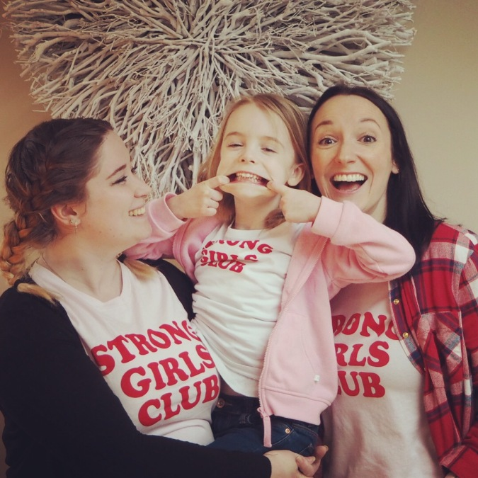 Strong Girls Club Tees from Mutha.Hood